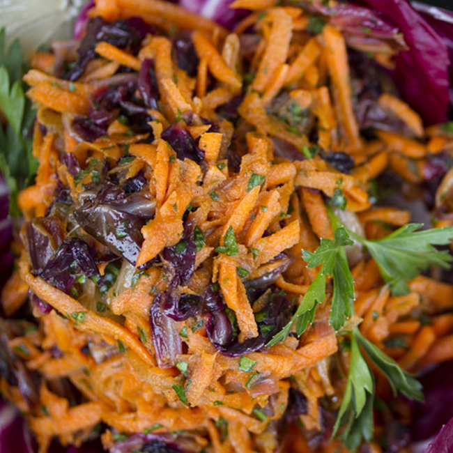 Middle Eastern-style Carrot Salad