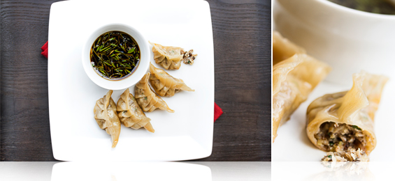 Cricket & Scallop Potstickers - Marx Foods Blog