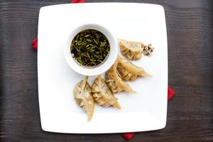 Cricket & Scallop Potstickers - Marx Foods Blog