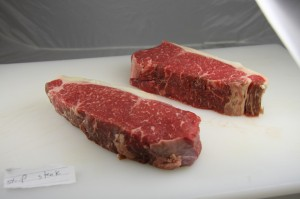 Montana Grass-fed Strip Steaks