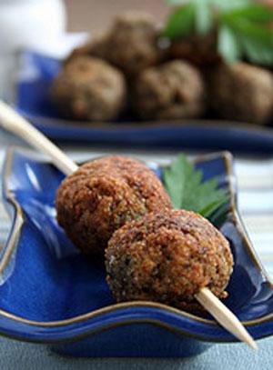 Versatile Meatless Meatballs