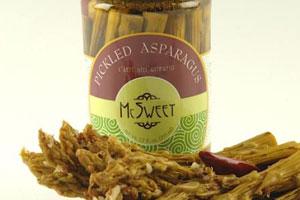 McSweet Pickled Asparagus