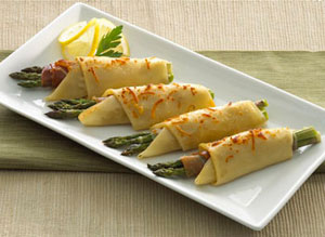 Asparagus & Prosciutto Roll Ups