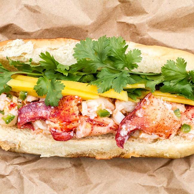 Thai-Style Lobster Rolls
