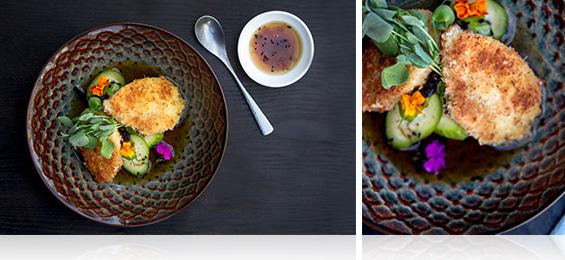 Alligator Katsu W Hijiki Cucumber Salad Marx Foods Blog