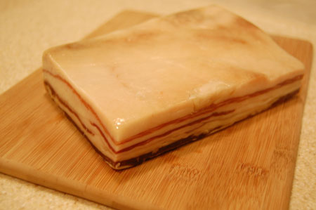 Mangalitsa slab bacon