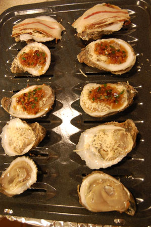 Ready to Broil Oysters