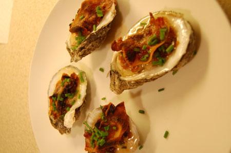 Mangalitsa Bacon Oysters