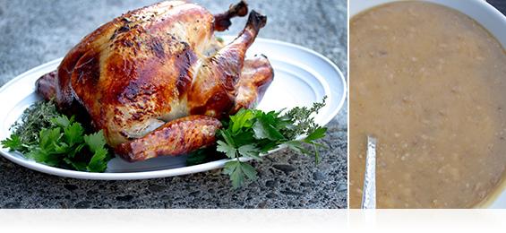 Roast Turkey w/ Shagbark Bourbon Gravy - Marx Foods Blog