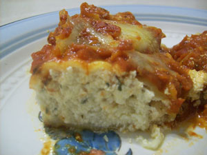 Baked Cheese Manicotti