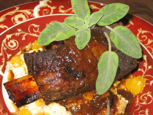 Brandy & Maple Braised Short Ribs