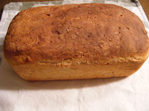 Oatmeal Honey Bread