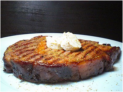grilled-aged-steak-with-fennel-butter-melting