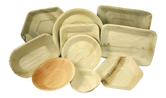 groupplates_lg  sc 1 st  Marx Foods & The Benefits of Disposable Palm Leaf Plates - Marx Foods Blog