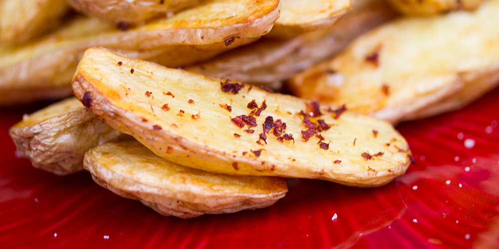 Bacon Roasted Fingerling Potatoes