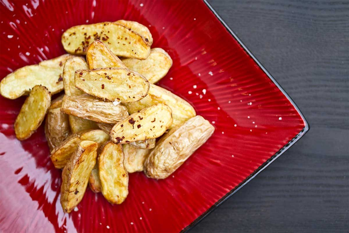 Bacon Roasted Fingerling Potatoes