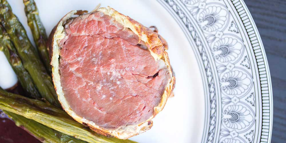 Grass-Fed Beef Tenderloin Roast w/ Potato Crust