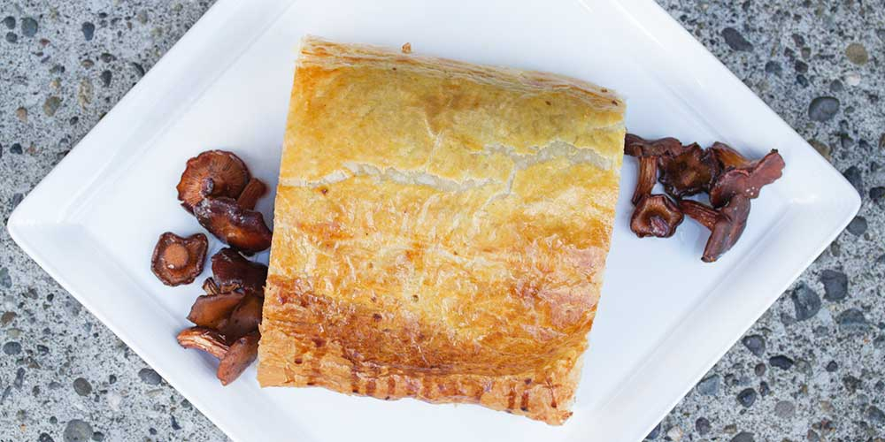 Grass-Fed Beef Wellington w/ Wild Mushrooms