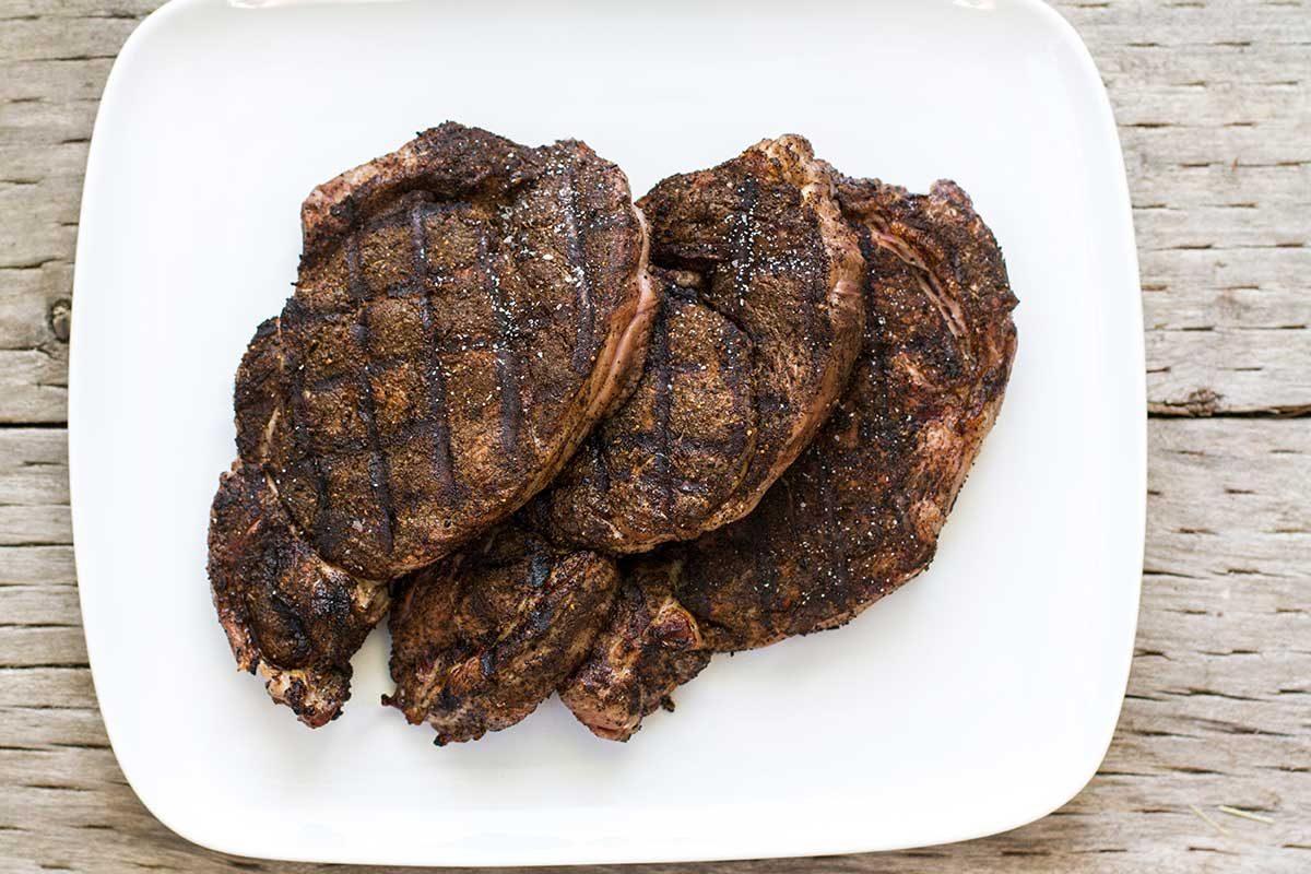 Black Tea Dry Rub for Grilled Steaks