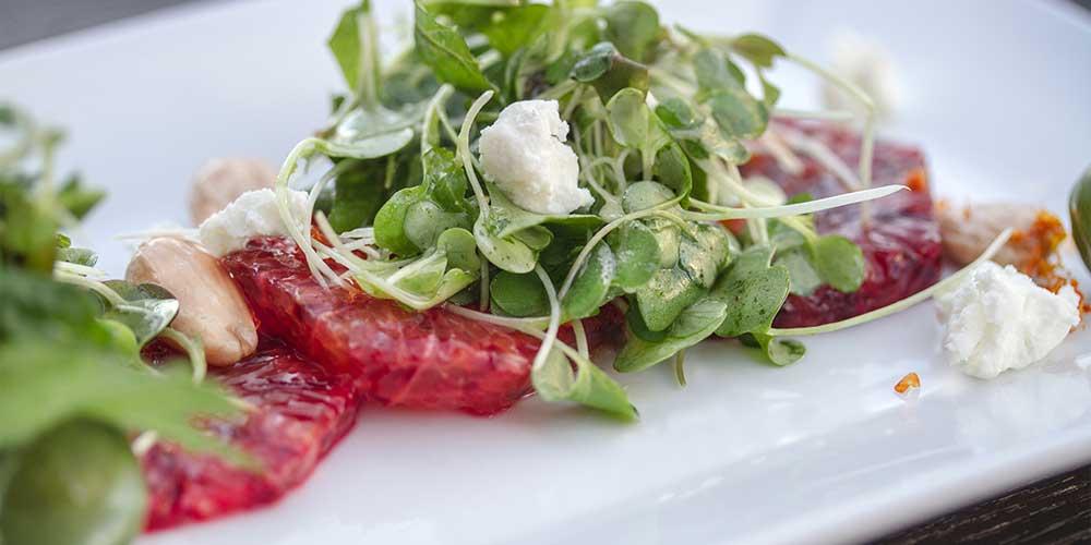 Blood Orange & Microgreen Salad