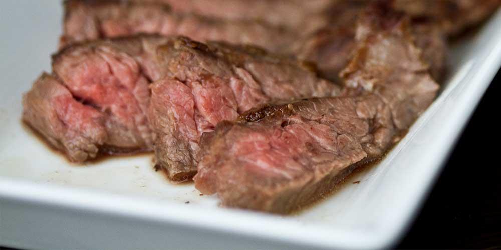Butter-Basted Skirt Steak with Chanterelles