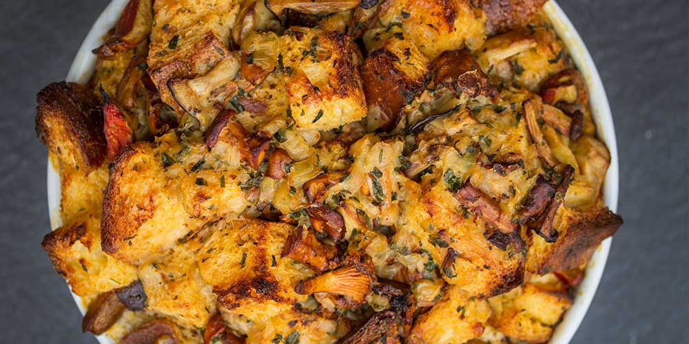 chanterelle onion and thyme stuffing