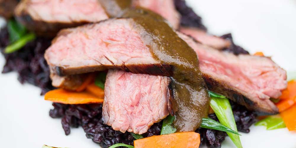 Char-Siu Marinated Flank Steak