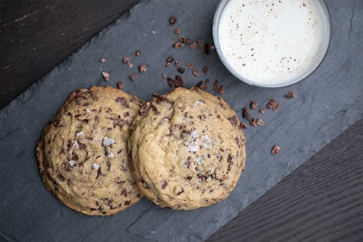 Chocolate & Cocoa Nib Cookies