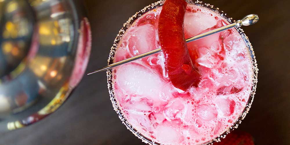 "Cocktail Recipe: ""Cinnamon Beet Fizz"""