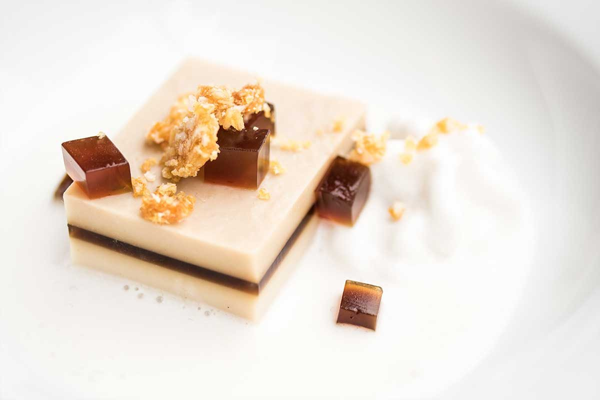 Coffee and Coconut Jelly