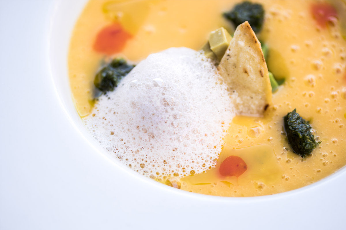 Cold Spicy Mango Soup