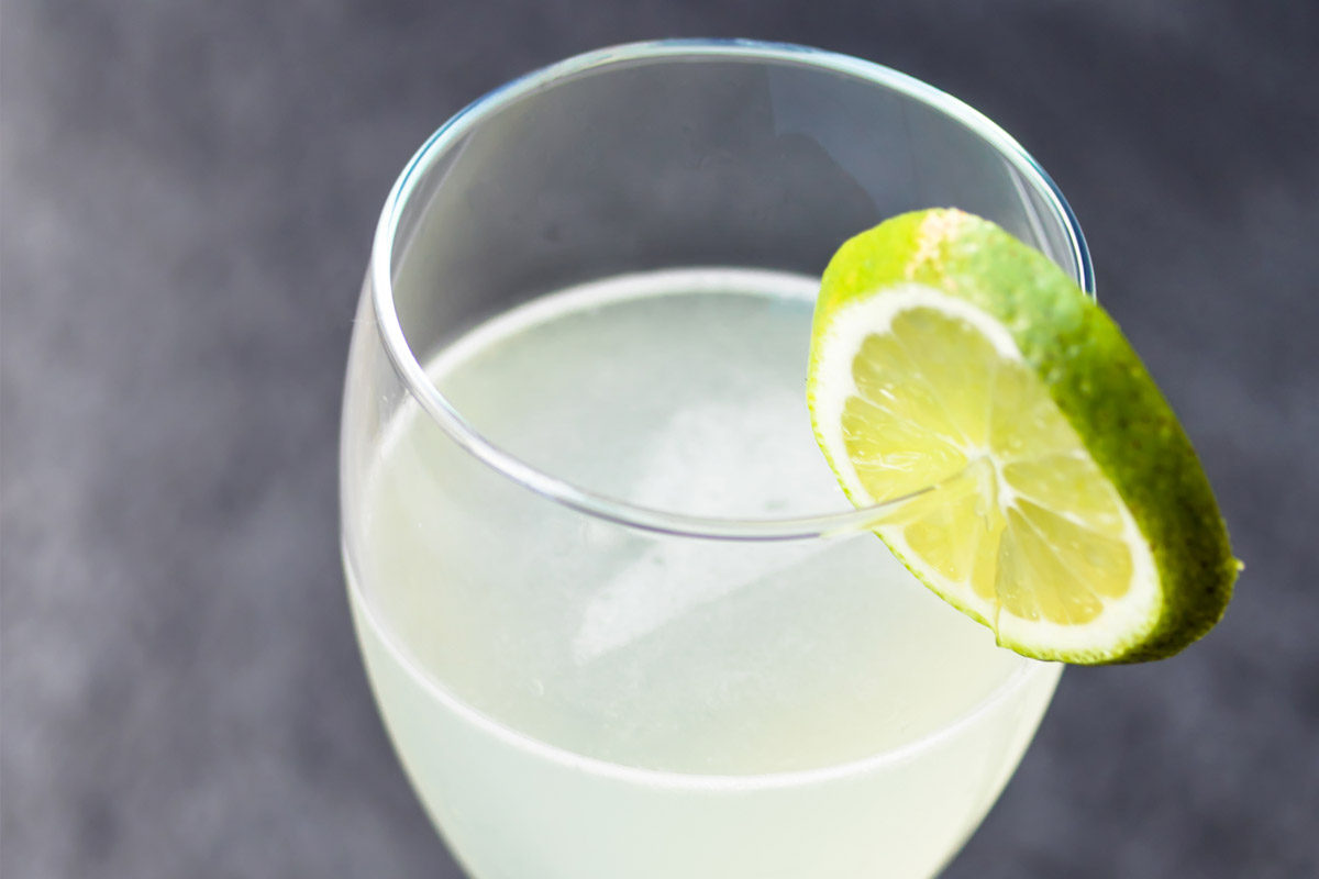 Elderflower Vodka Gimlet