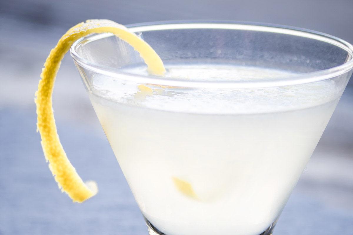 Elderflower White Lady Cocktail