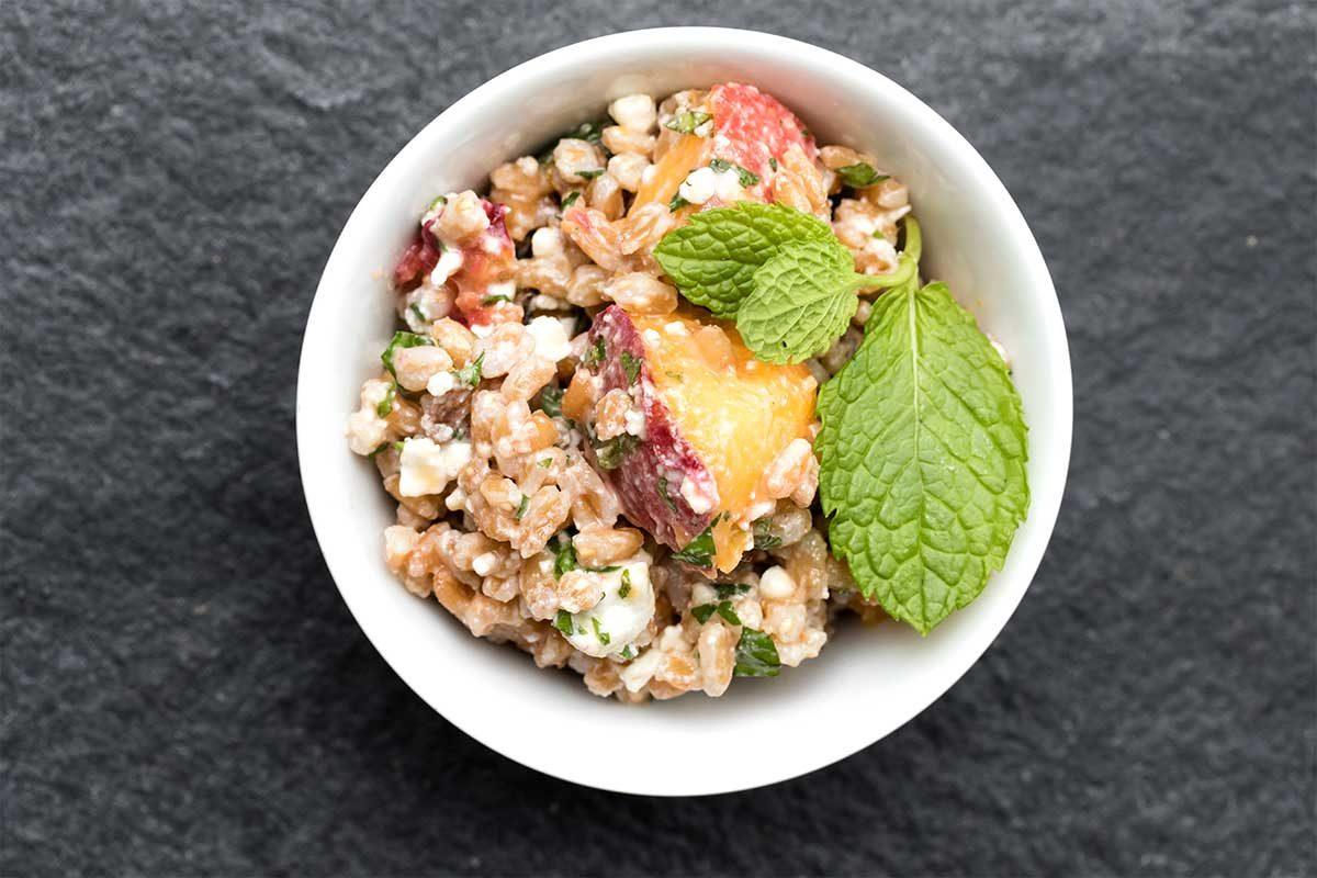 Farro Salad Feta