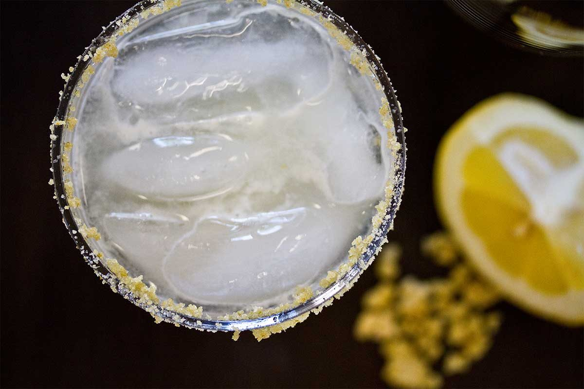 Fennel Crystal Gin Cocktail