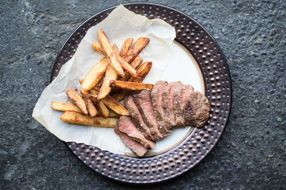 Flat Iron Steak Frites