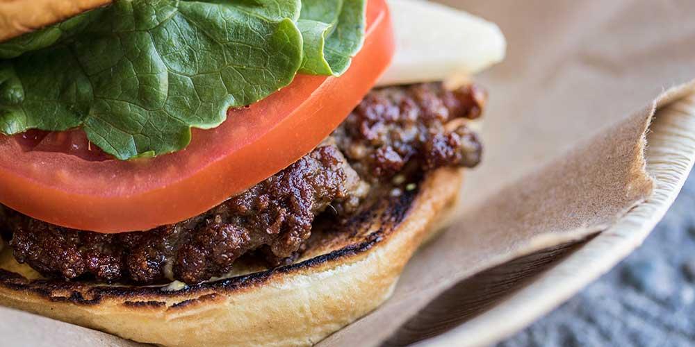 Foie Gras-Stuffed Burgers with a Colatura Special Sauce