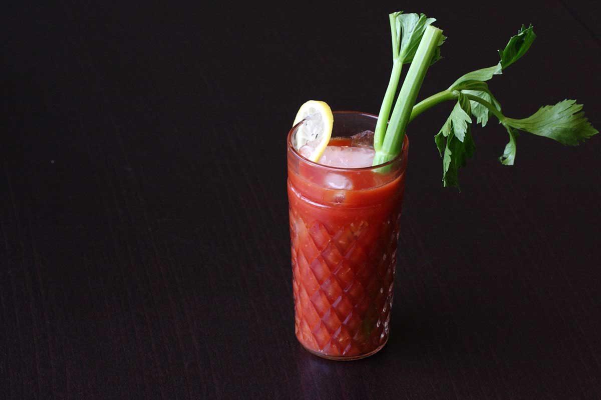 Fresh Horseradish Bloody Mary