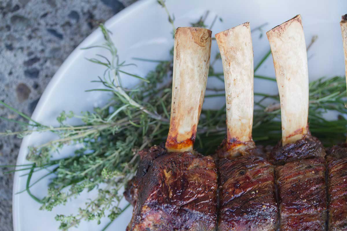 Grass-fed Beef Rib Roast