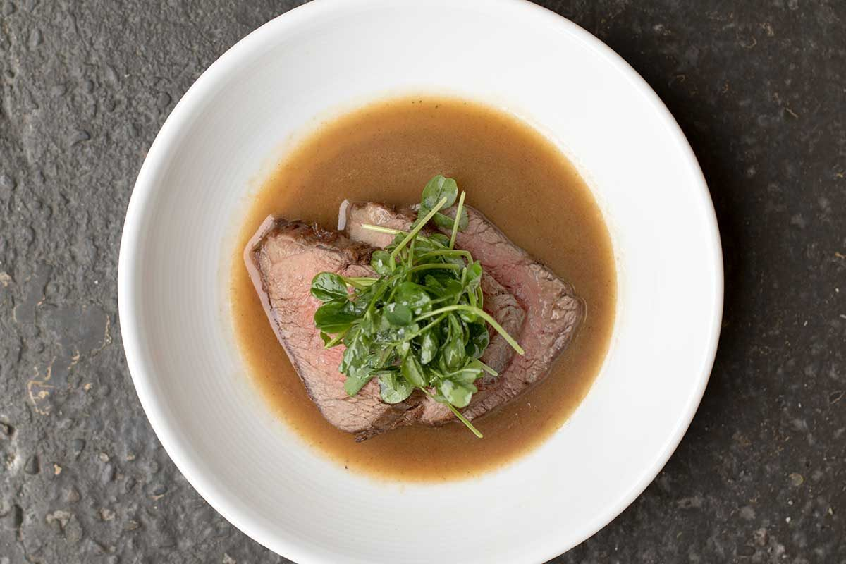 Grass-Fed Beef Tri Tip w/ Yuzu Butter