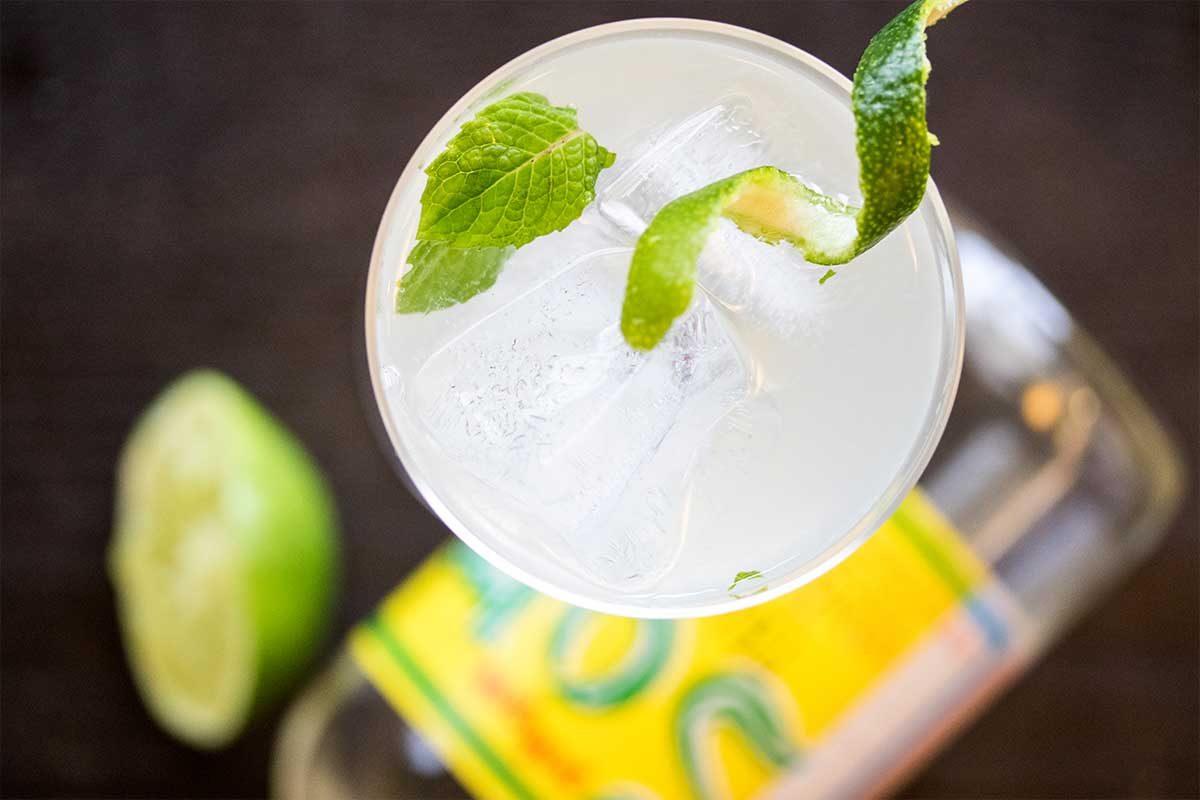 Gin Somic Cocktail