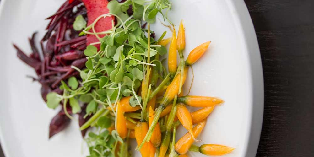 Glazed Tiny Carrots & Beets