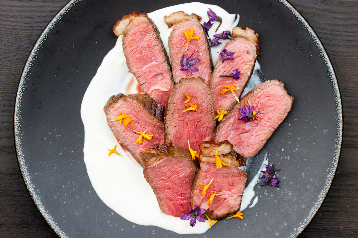 Grass-fed Beef Coulotte with Molho de Alho
