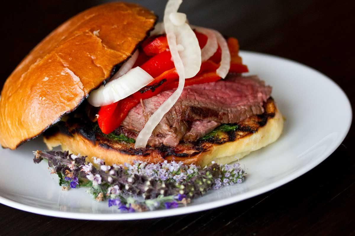 Grilled Kobe Beef Sandwich