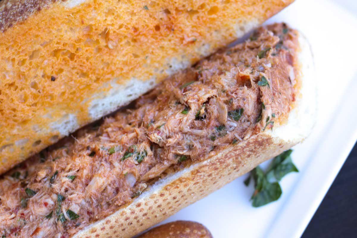 Moroccan Tuna Sandwich (Thon Bel Hrour)