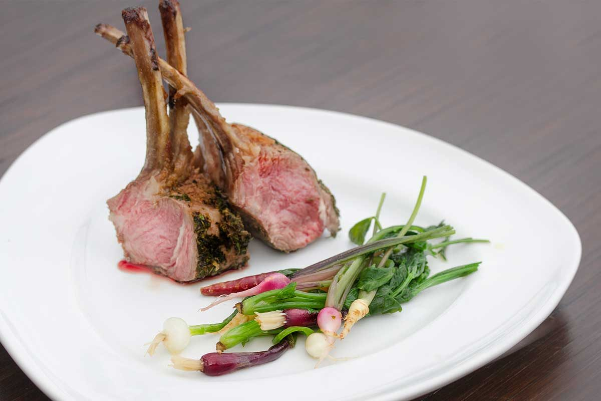 Herb Crusted Lamb Rack