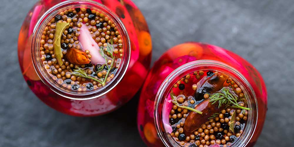 Hot Pickled Veggies