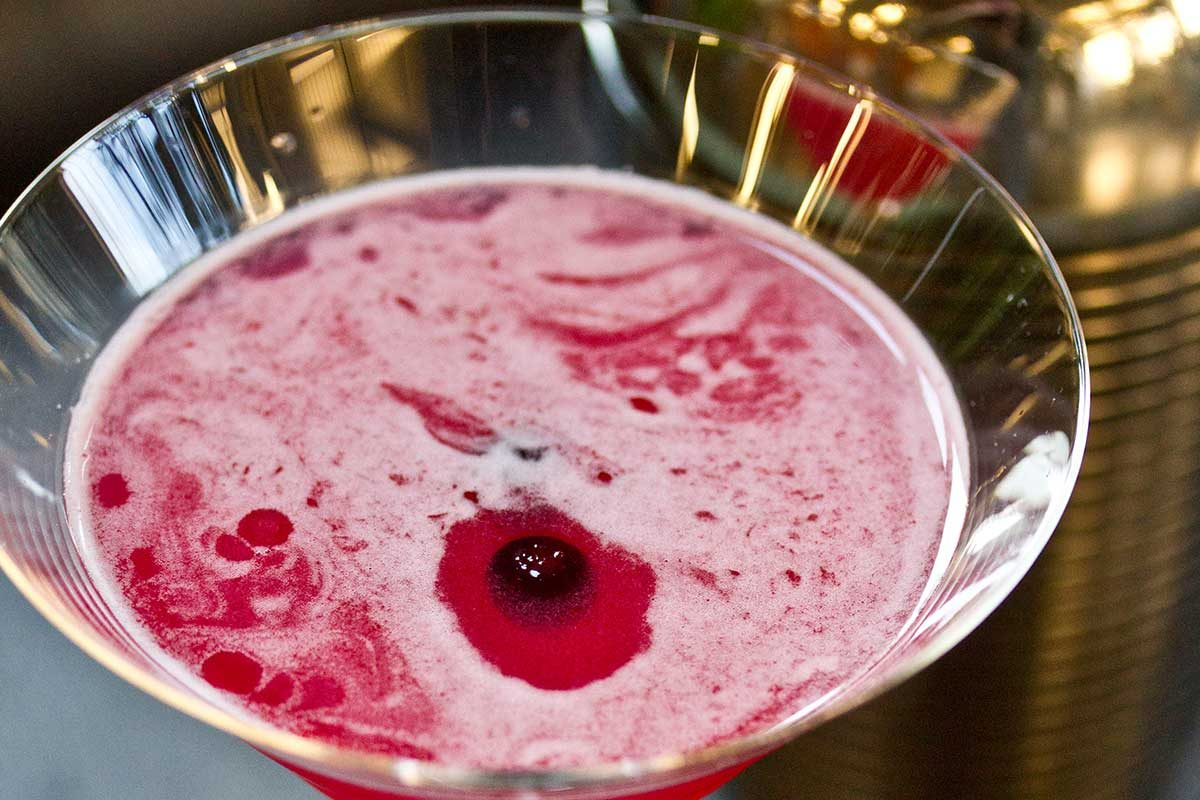 Huckleberry Daiquiri Cocktail
