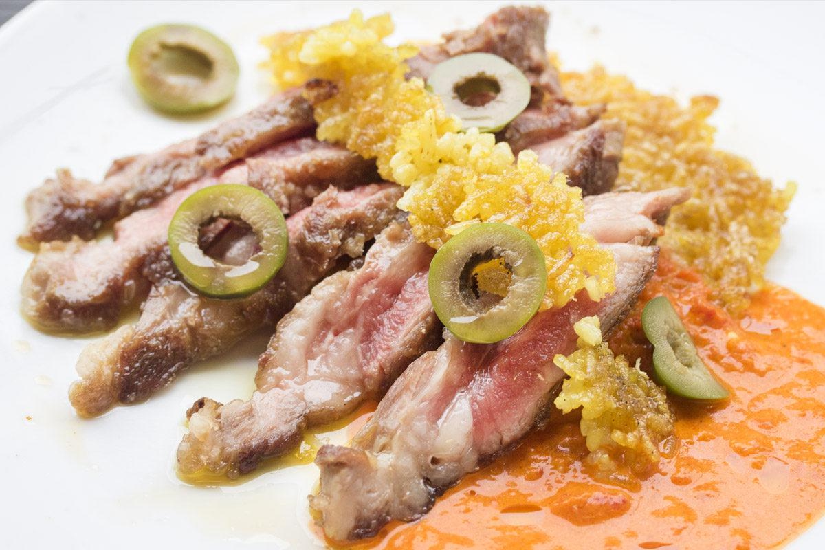 Iberico End Loins (Pluma) w/ Saffron Rice