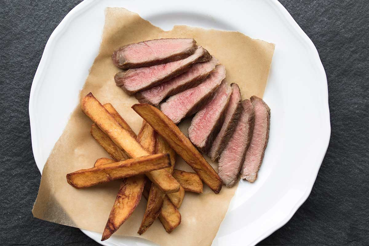 Iberico Pork Steak Fries